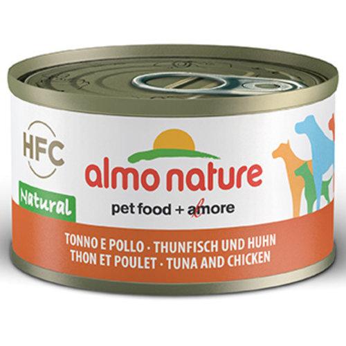 Almo Nature AN Dog HFC Natural Tonijn met Kip 95 gr.