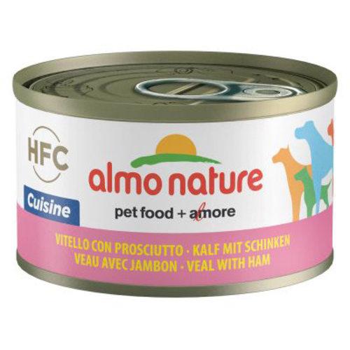 Almo Nature AN Dog HFC Cuisine Kalf Ham 95 gr.