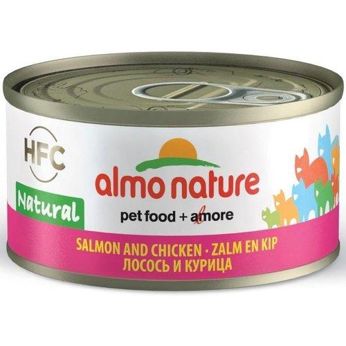 Almo Nature AN Zalm met Kip 70 gr.