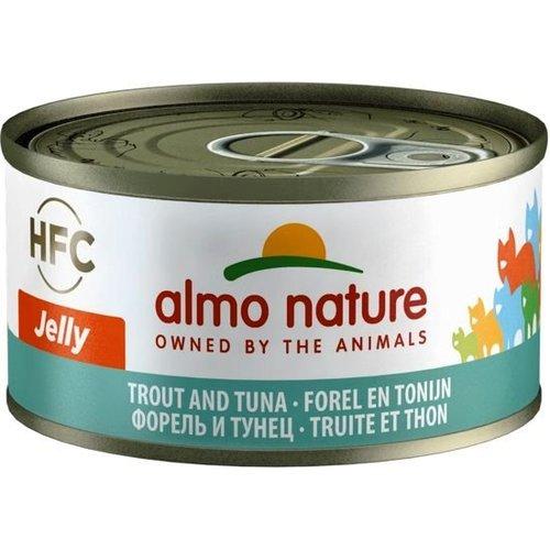 Almo Nature AN Tonijn met Forel 70 gr.