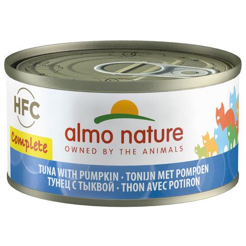 Almo Nature AN Tonijn met Pompoen Graanvrij 70 gr.