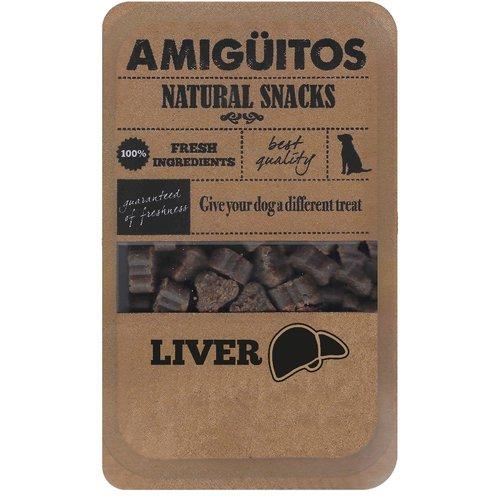 Amiguitos Amiguitos Dogsnack Liver 100 gr.