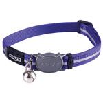 Rogz Beltz AlleyCat Halsband Small Purple SMALL