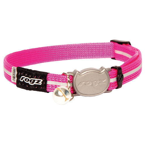 Rogz Beltz AlleyCat Halsband Small Pink SMALL
