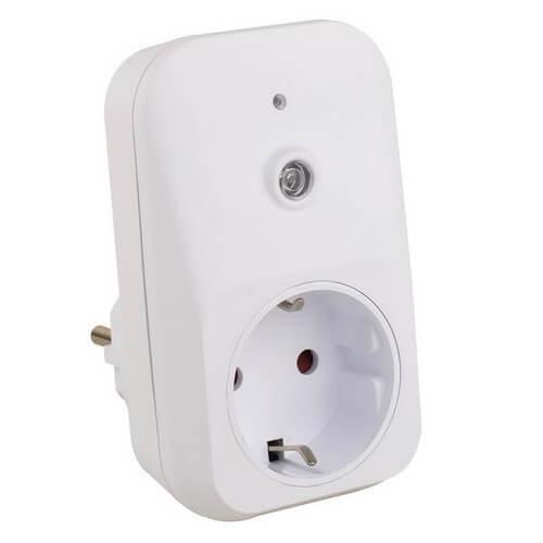 Interuttore (da vacanza) con sensore luce/buio