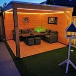 Striscia LED luminoso per esterno - Verde