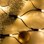 Rete luci natalizie | 2x1 metri - bianco caldo