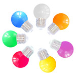 Set misto, 7 LED colorati