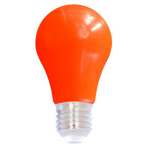 Lampadina LED colorata, 2 e 5 watt, rosso, rivestimento grande Ø60