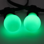 Lampadina LED colorata, 2 e 5 watt, verde, rivestimento grande Ø60
