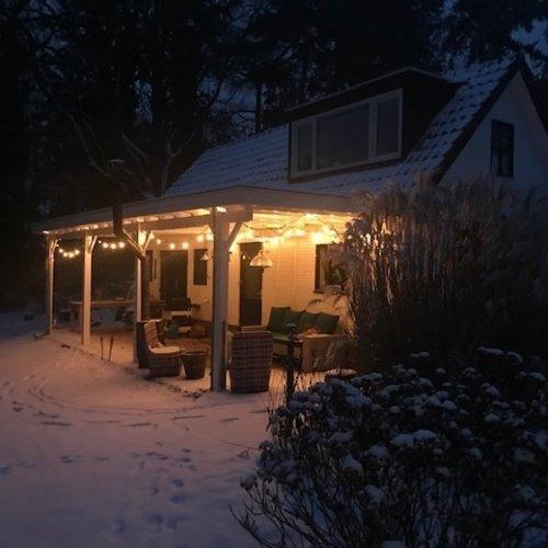 Lampadine a filamenti LED a luce bianca calda - 1 watt