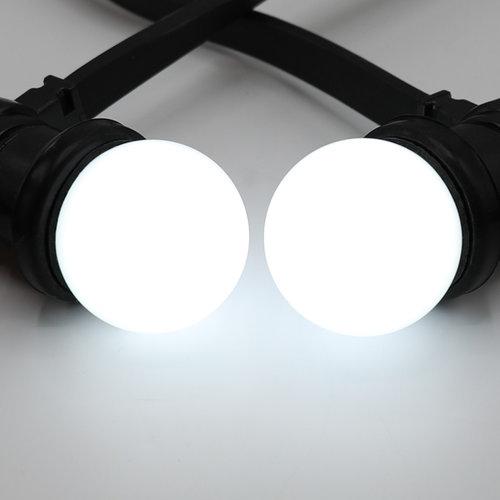 Lampadine LED a luce bianca calda con rivestimento opaco, Ø45