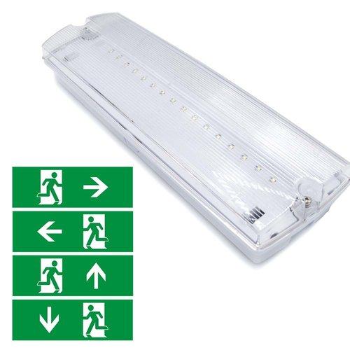 Illuminazione di emergenza da 3 watt (OTG-KL) con rivestimento trasparente