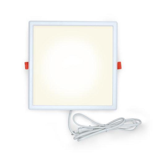 Faretti LED Downlight quadrati - 18 watt - 220 x 220mm