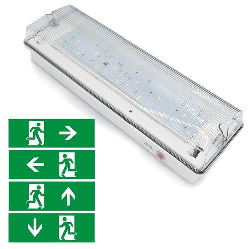 Illuminazione di emergenza da 6 watt (OTG-GG-9) con rivestimento trasparente
