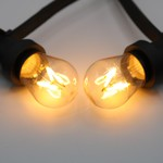 Lampadine a filamenti LED a luce bianca calda, dimmerabile - 3,5 watt