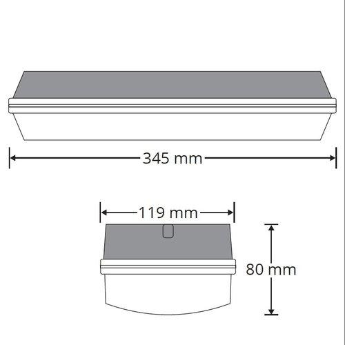 Apparecchio per portici senza batteria - 5,7 watt