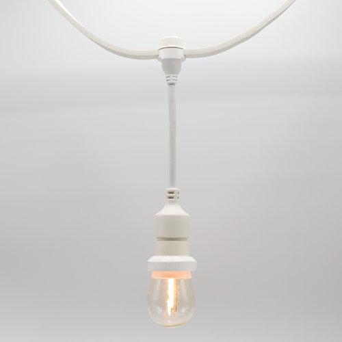 Portalampada a sospensione (bianco) - da montare (escluso lampada)