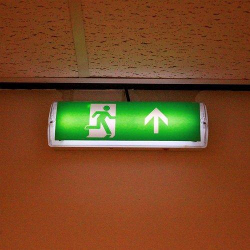 Illuminazione di emergenza da 3 watt (OTG-KL-7) con rivestimento trasparente