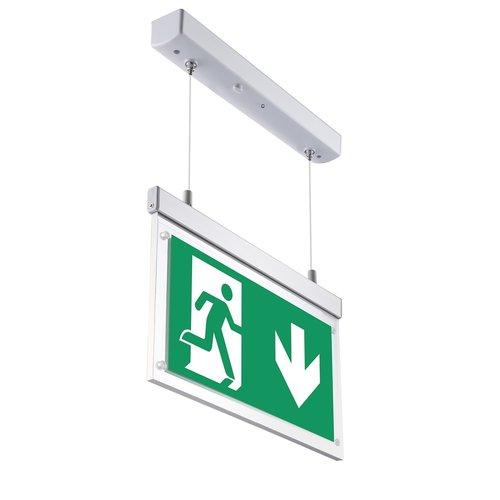 Illuminazione di emergenza da 2,5 watt OTG-VV-5, aggiustabile in altezza