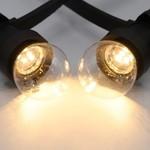 Set di catene luminose con lampade a LED con LED nella parte inferiore