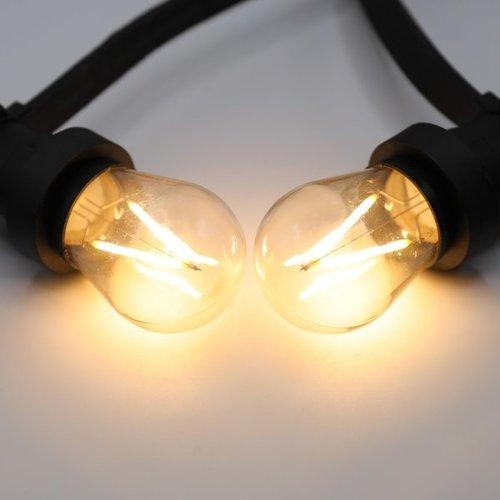 Set di catene luminose con lampade a filamento LED da 3 watt dimmerabili