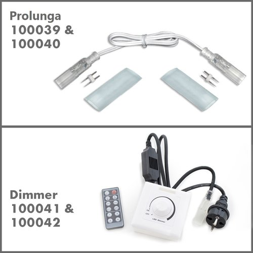 Accessori per la striscia luminosa LED da 230V - strisce LED
