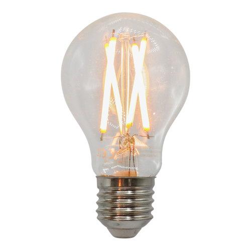 Lampada a filamento da 7W e 9W, 2200-2700K, vetro trasparente Ø60, dim-tiepido