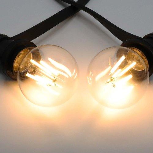 Lampada a filamento 4,5W e 7W, 2700K, vetro trasparente Ø60, dimmerabile su 3 livelli