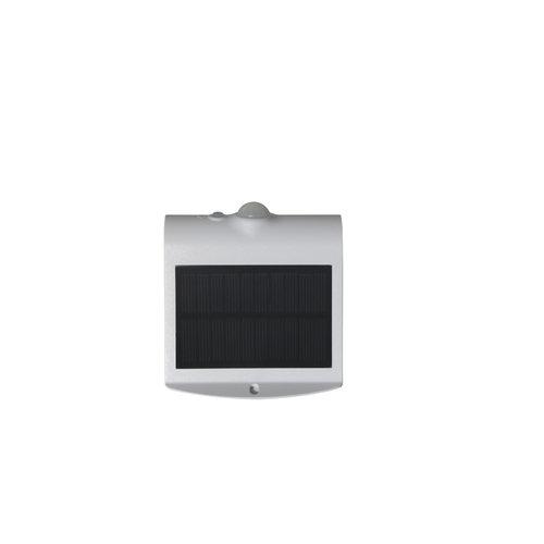 Lampada da parete solare Alien 1.5W con sensore - bianco
