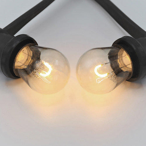 Set di catene luminose con lampade a filamento LED a forma di U da 1 watt, dimmerabili
