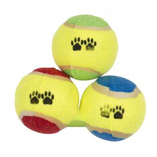 Huismerk Honden tennisbal 3 delig