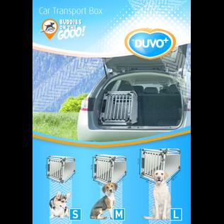 Duvo+ Duvo+ Autobench Small aluminium 64x49x59 cm