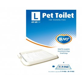 Duvo+ Puppy trainingstoilet voor pads 60x45