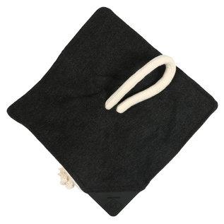 Duvo+ Knuffeldoekje snoozi 30x30 cm Antraciet