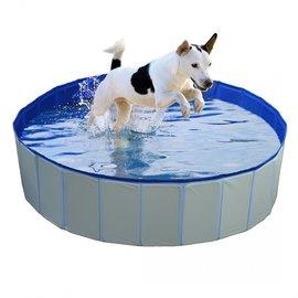 Duvo+ Hondenzwembad Blauw 120x30cm
