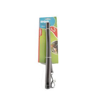Huismerk Hondenriem Reflecterend Grijs Zwart 120 cm