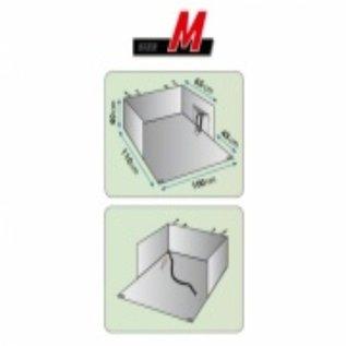Huismerk Kofferbak beschermdeken Dexter M 100x110 cm