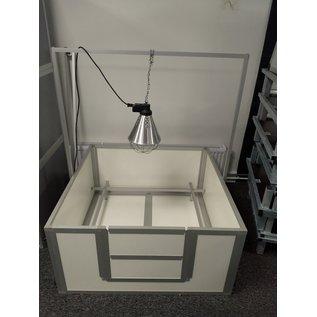 Hundos  Beugel voor warmtelamp passend bij werpkist120x120x60 cm