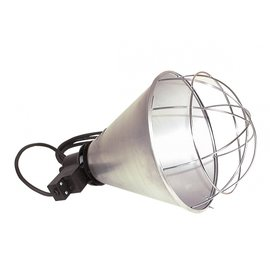 Duvo+ Metalen lampenhouder met kabel voor warmtelamp