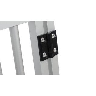 Hundos  Aluminium Deur in kozijn 51.5 cm. breed 66 cm. h