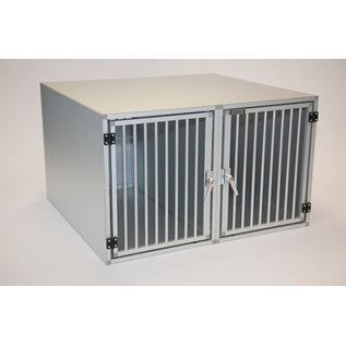 Hundos  Hundos Pro Aluminium Autobench Recht Model Dubbel 100x110x67