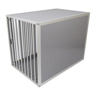 Hundos  Aluminium Hondenbench model DL deur rechts, maat M