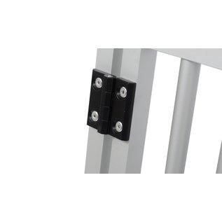 Hundos  Aluminium Deur in kozijn 50cm. breed 69cm. hoog