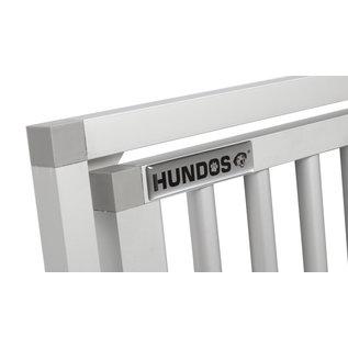 Hundos  Aluminium Deur in kozijn 55cm. breed 75.5cm. hoog