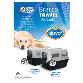 Duvo+ Transportbox Bracco IATA 8 118 x 81 x 88 cm.