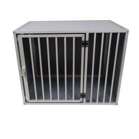 Hundos  Pro Aluminium Hondenbench model DL maat M 3 zijden dicht