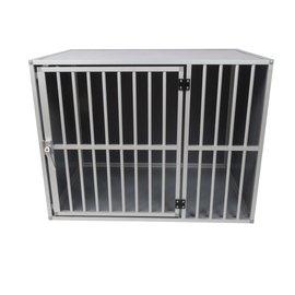 Hundos  Pro Aluminium Hondenbench model DL maat L 3 zijden dicht