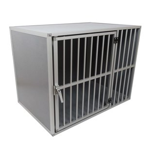 Hundos   Pro  Hondenbench model DL maat L 3 zijden dicht