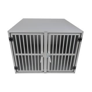 Hundos  Hundos Pro Aluminium Autobench Recht Model Dubbel 100x95x67